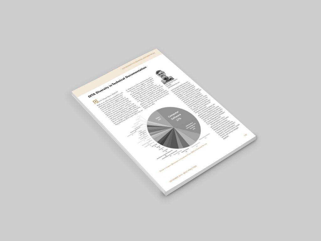 Screenshot of PDF article on DITA diversity.