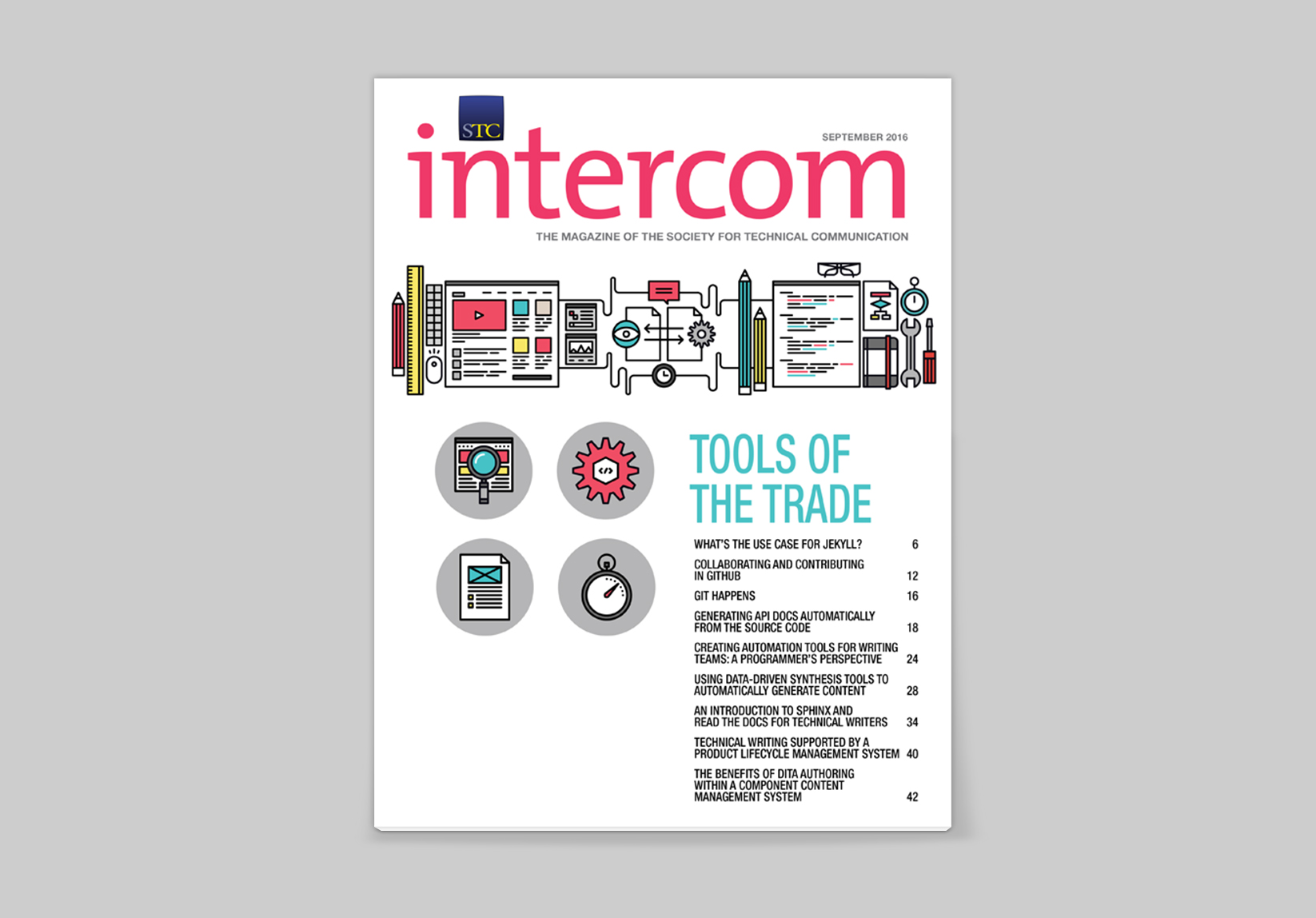 title page of intercom article