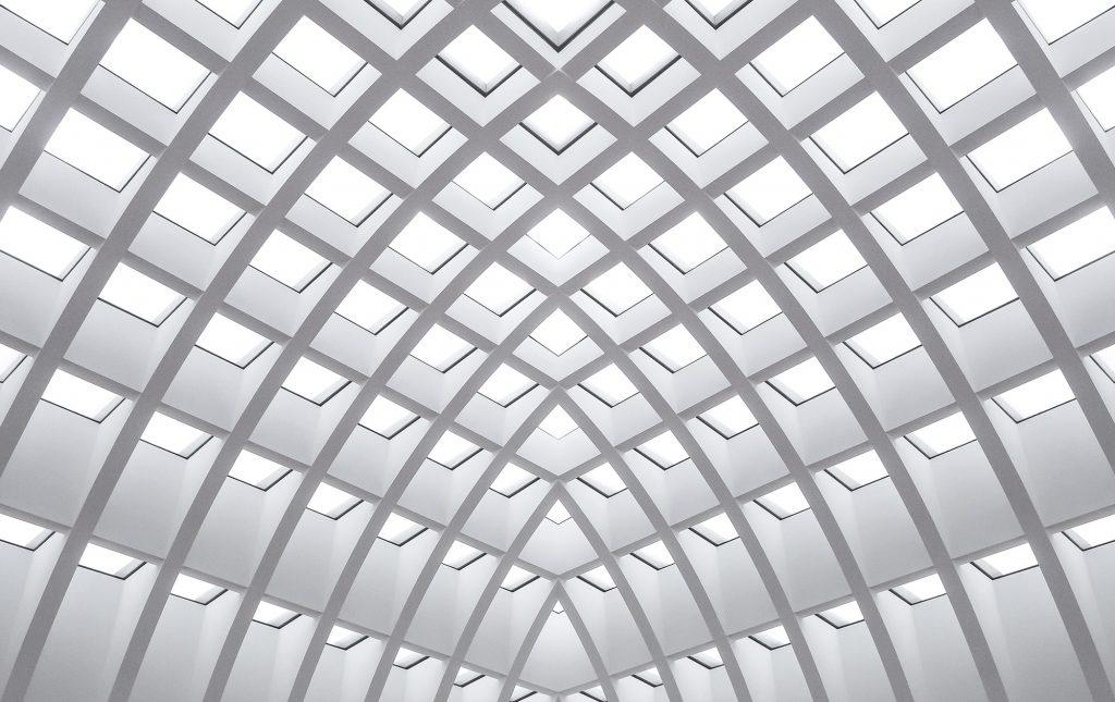 White and Grey Atrium