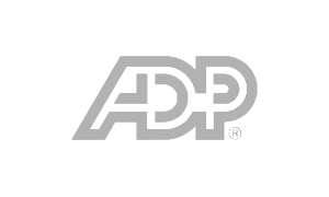 ADP logo in grey