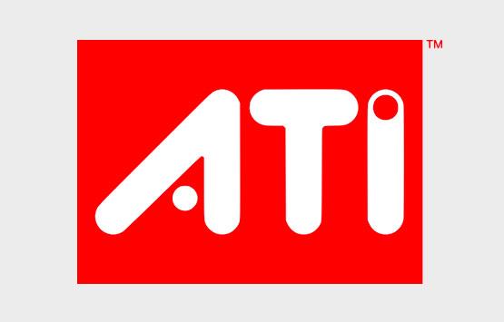ATI logo white on red background