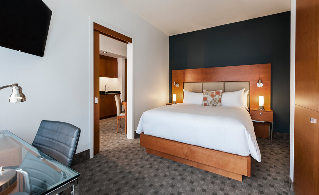 Hotel Le Crystal Bedroom