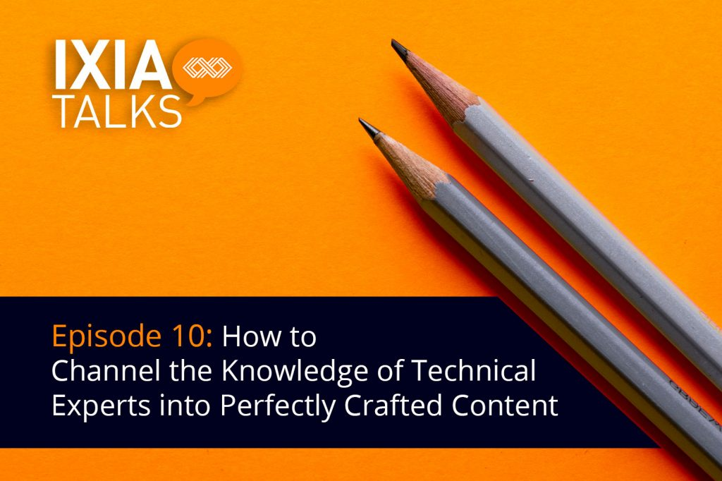 How to Channel the Knowledge of Technical Experts into Perfectly Crafted Content