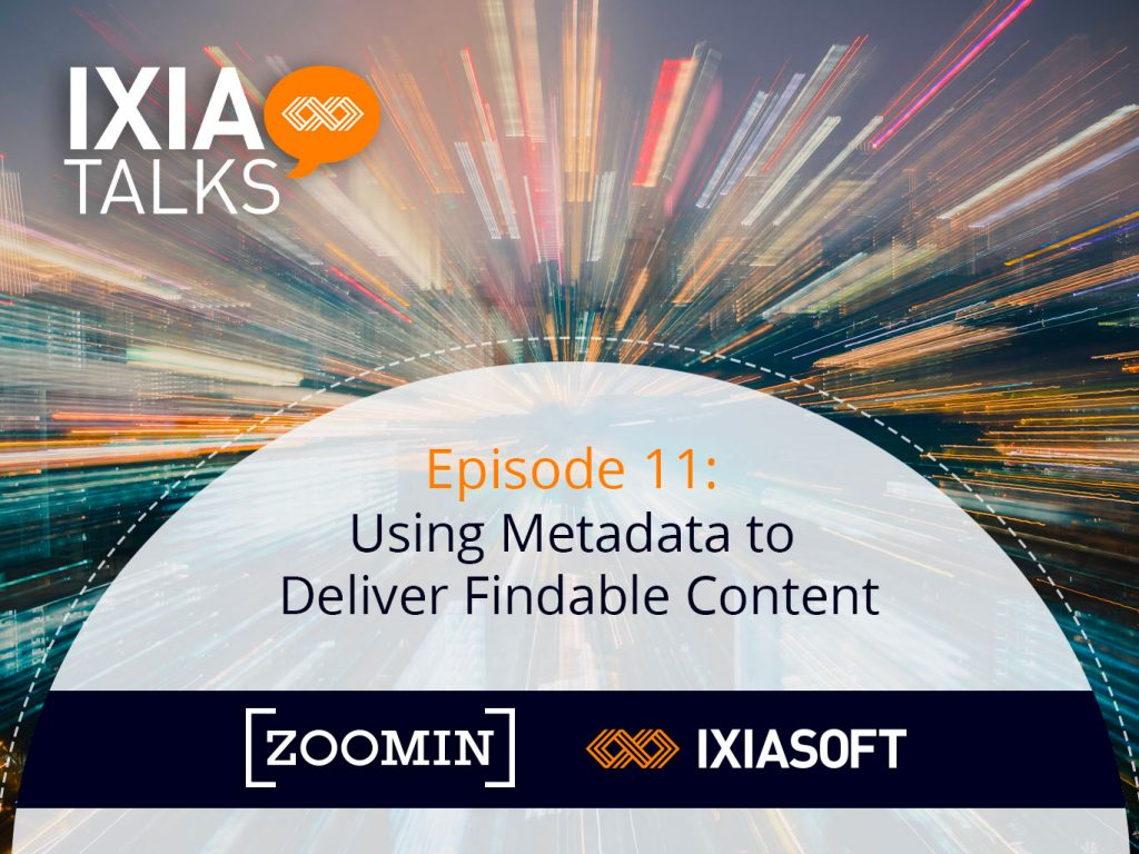Using Metadata to Deliver Findable Content