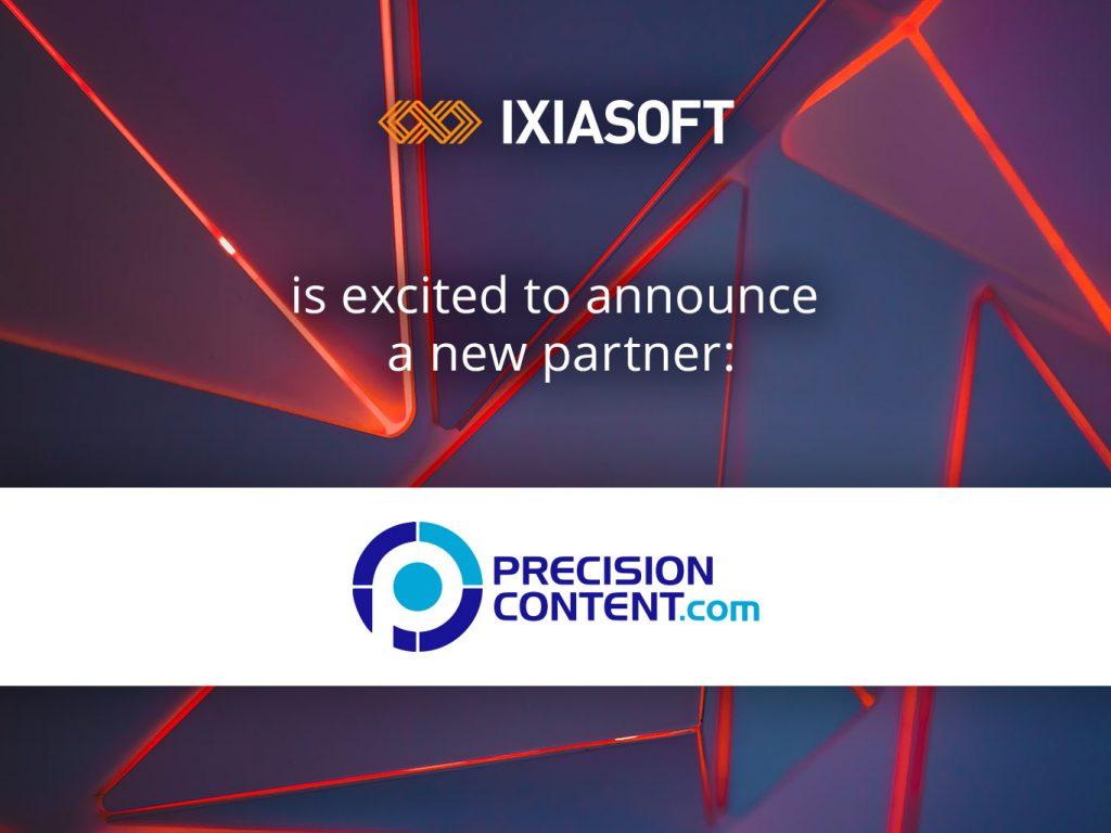 IXIASOFT Announces Partnership with Microcontent Experts Precision Content