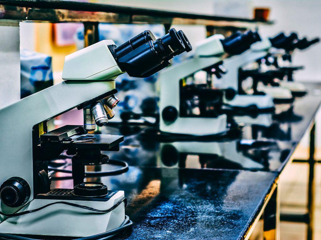 many microscopes