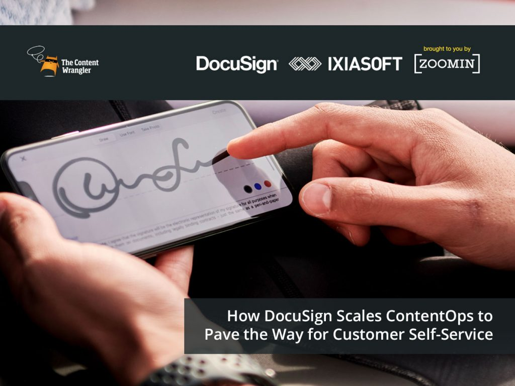 How DocuSign Scales Content Operations to Pave the Way for Customer Self-Service